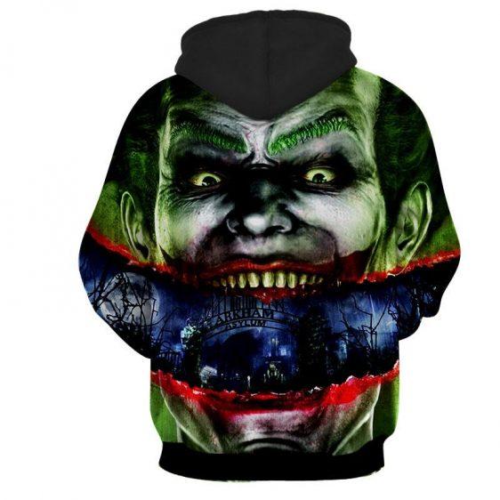Joker Sent To Arkham Asylum Design Full Print Hoodie