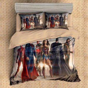 Justice League DC Comics Superhero Team Bedding Set