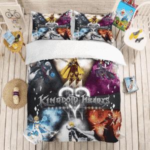 Kingdom Hearts Shards of Light Main Characters Bedding Set