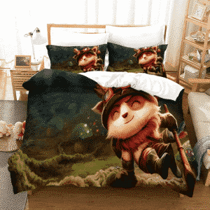 League of Legends Captain Teemo On Duty Cute Bedding Set