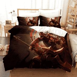 League of Legends Jarvan IV Prince Lu Bu Inspired Bedding Set