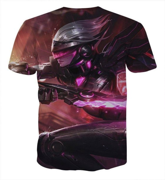 League of Legends Fiora The Heroic MOBA Champion Purple T-Shirt