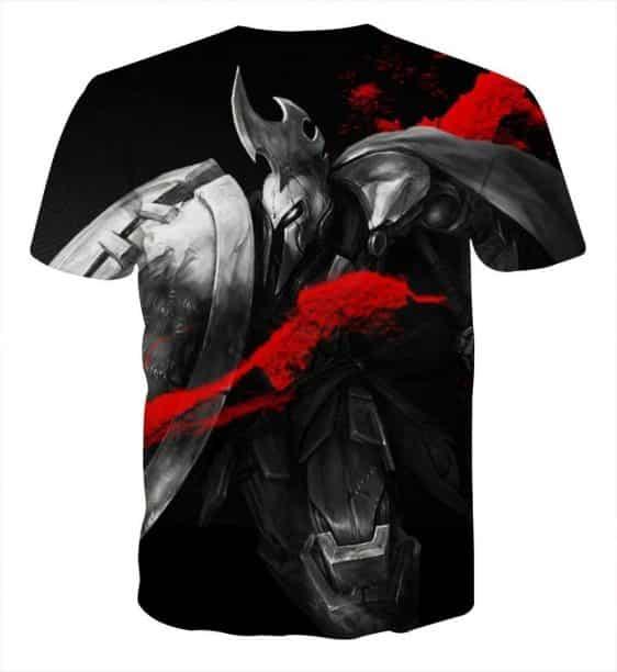 League of Legends Impressive Pantheon Weapon Cool Printing T-Shirt