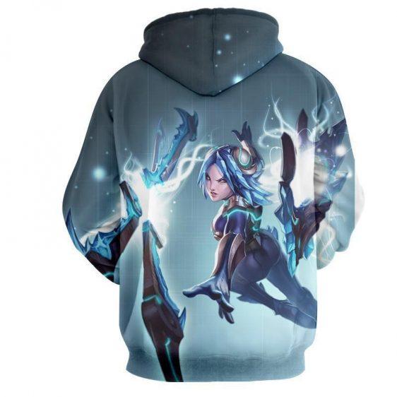 League of Legends Irelia Blade Power Girl Fighter Cozy Design Hoodie