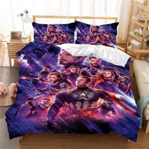 Marvel Avengers End Game Courageous Cinematic Bedding Set