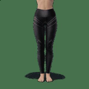 Marvel Black Panther Compression 3D Printed Women Training Leggings