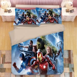 Marvel The First Avengers Heroes Assemble Bedding Set