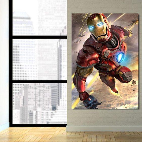 Marvel Comics Indestructible Iron Man 1pc Canvas Print