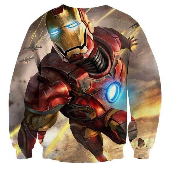 Marvel Comics Indestructible Iron Man Design Sweatshirt