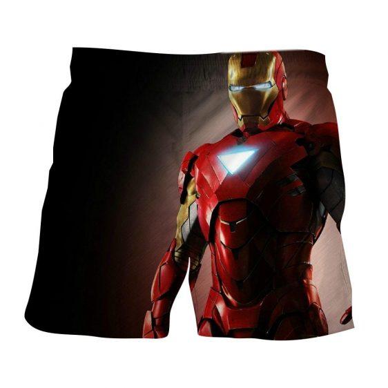 Marvel Comics Powerful Iron Man Style 3D Printed Shorts