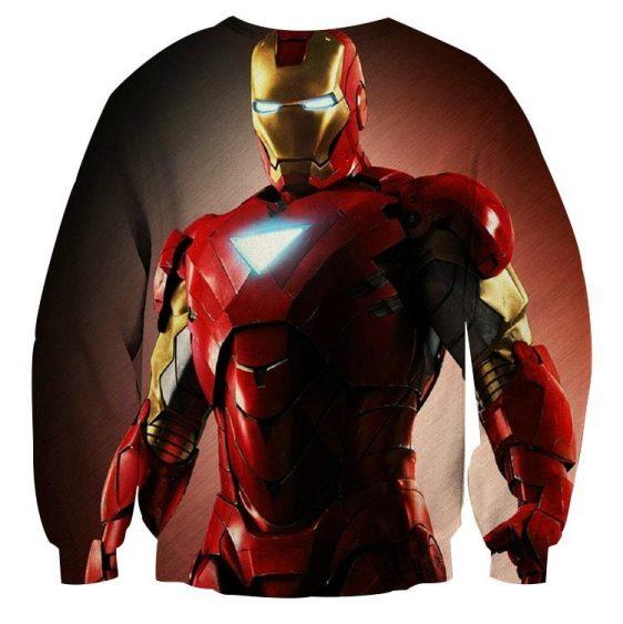 Marvel Comics Powerful Iron Man Unique Design Sweatshirt