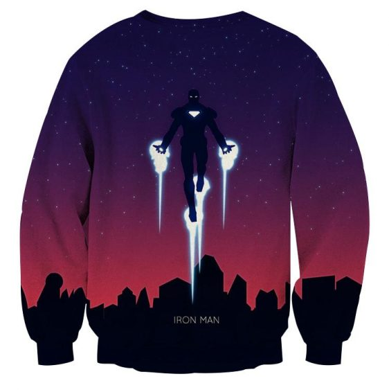 Marvel Comics Soar High Iron Man Design Sweatshirt