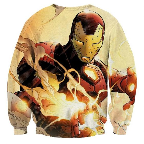 Marvel Comics The Fearless Iron Man Design Sweatshirt
