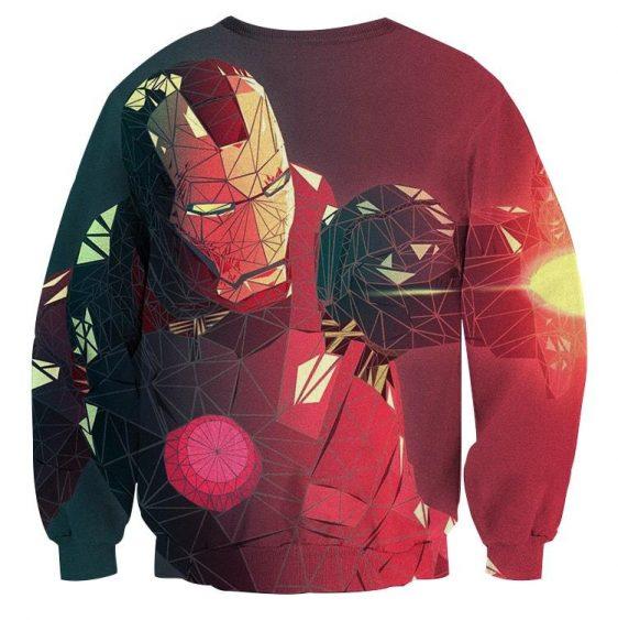 Marvel Comics The Fierce Iron Man Design Sweatshirt