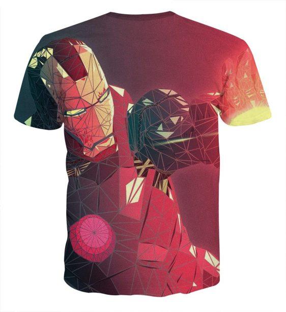 Marvel Comics The Fierce Iron Man Full Print T-shirt