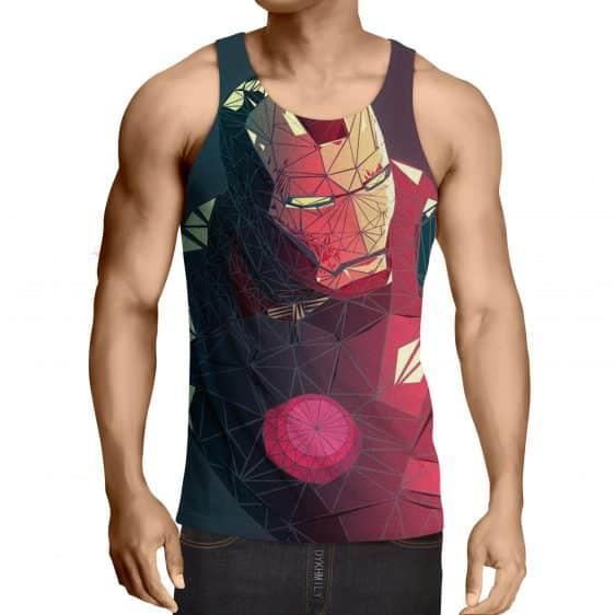 Marvel Comics The Fierce Iron Man Full Print Tank Top