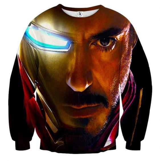 Marvel Comics The One Eye Iron Man Design Sweatshirt