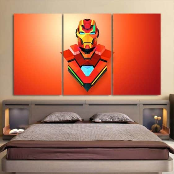 Marvel Comics The Sturdy Iron Man 3pcs Canvas Print