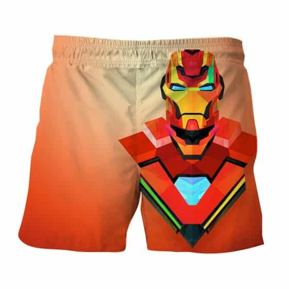 Marvel Comics The Sturdy Iron Man Design 3D Printed Shorts