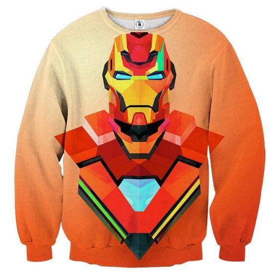Marvel Comics The Sturdy Iron Man Design Sweatshirt