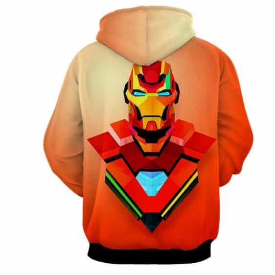 Marvel Comics The Sturdy Iron Man Full Print Hoodie