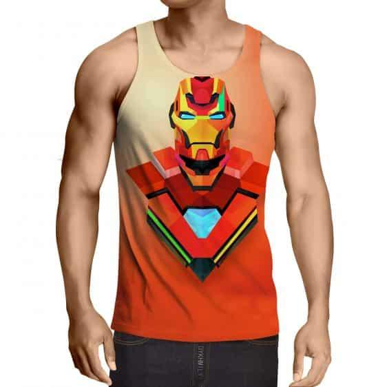 Marvel Comics The Sturdy Iron Man Full Print Tank Top