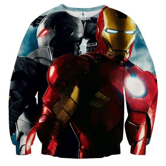 Marvel Comics Two Iron Man Unique Dope Design Sweatshirt