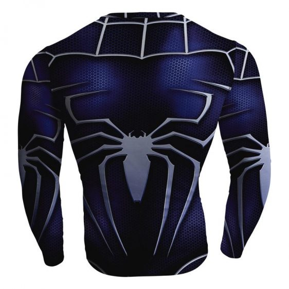 Marvel Spiderman Long Sleeves Dope Design Workout T-shirt