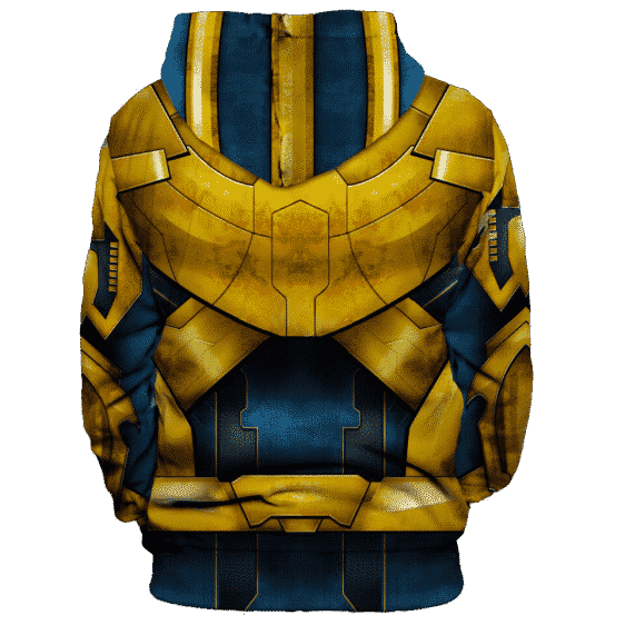 Marvel Thanos Supervillain Uniform Costume Cool 3D HD Hoodie