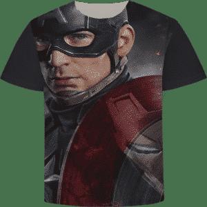 Marvel's Captain America Civil War Art Short Sleeve T-Shirt