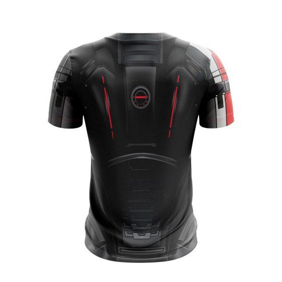 Mass Effect 2 Male Shepherd N7 Armour Cool Gaming T-Shirt