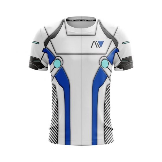 Mass Effect Andromeda Liam Kosta Armour Cool Gaming T-Shirt
