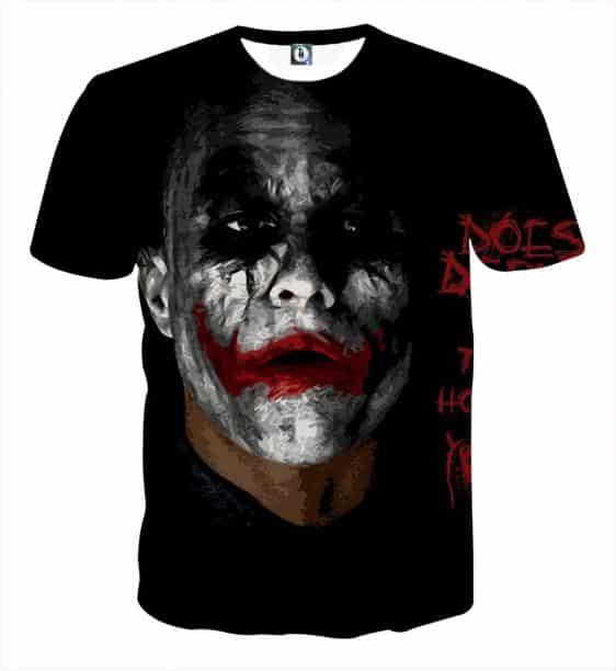Miserable Empty Life Of Joker Design Full Print T-Shirt