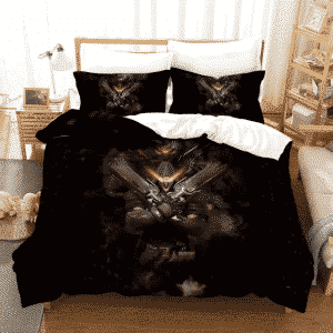 Overwatch Reaper From The Shadows Dope Black Bedding Set