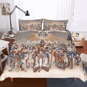 Overwatch Sensational Characters Assemble Bedding Set