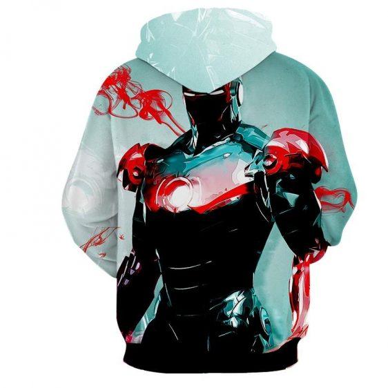 Powered Exoskeleton Iron Man Unique Full Print Hoodie