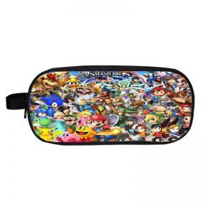 Super Smash Bros Crossover Fighting Video Game Pencil Case