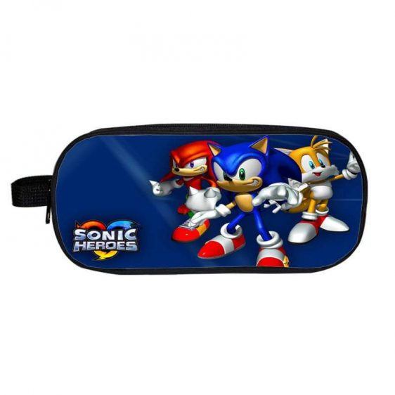 Sonic Heroes Sonic Knuckles Tails The Epic Team Pencil Case
