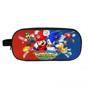 Rio Olympic Games Super Mario & Sonic Team Up Pencil Case