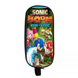 Sonic Boom Rise of Lyric Tails Knuckles Amy Pencil Case