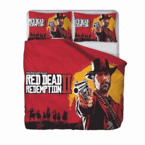 Red Dead Redemption Arthur Morgan Epic Red Bedding Set