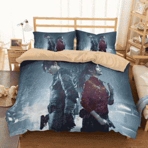 Resident Evil Leon Kennedy Claire Redfield Best Bedding Set