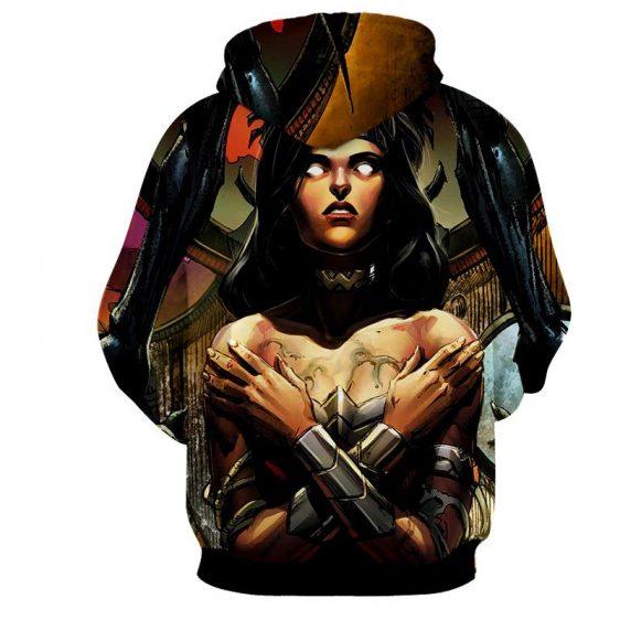 Salvage By Enemy Wonder Woman DC Comics Superhero Hoodie