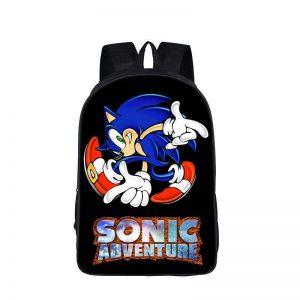Sega Sonic Adventure Awesome Pose School Backpack Bag
