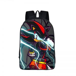 Sonic Arch-Rival Shadow The Hedgehog Backpack Bag