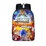 Sonic Boom Fire & Ice Awesome Characters Backpack Bag