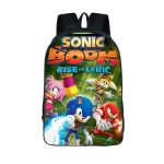 Sonic Boom Rise of Lyric Tails Knuckles Amy Backpack Bag