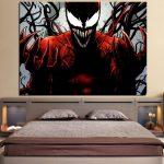 Spider-Man Enemy Carnage Design 1pcs Wall Art Canvas Print