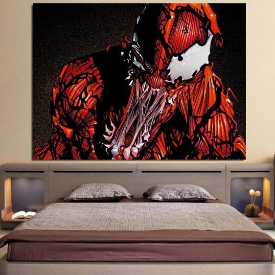 Spider-Man Enemy Monster Design 1pcs Wall Art Canvas Print
