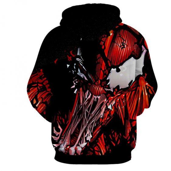 Spider-Man Enemy Monster Design Full Print Dope Hoodie
